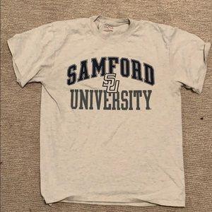 samford grey tshirt